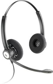 Head Phone with Mic Small (Plantronics)