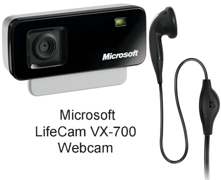 Microsoft Lifecam Webcam